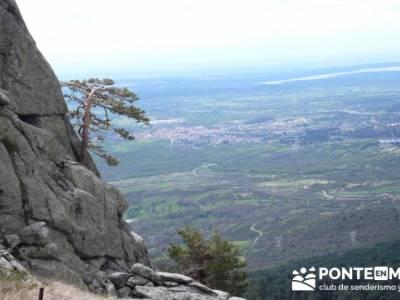 La Peñota y Peña del Arcipreste; empresas senderismo madrid;excursiones y senderismo